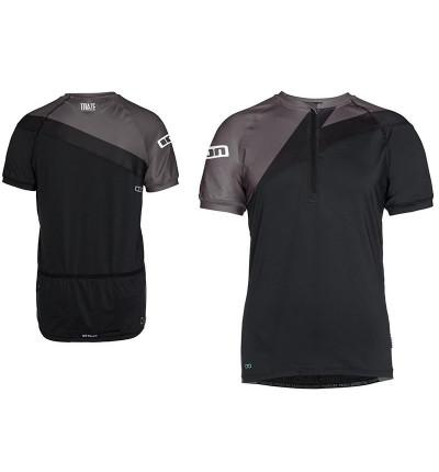 Tshirt Ion Zip SS Helio