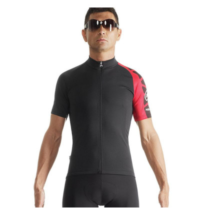 Assos SS.Mille Evo7 Maillot Manches Courtes Rouge