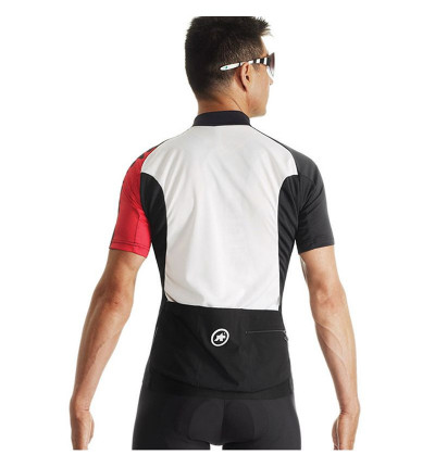 Assos SS.Mille Evo7 Maillot national red