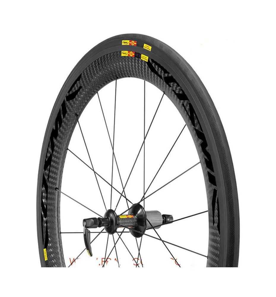 Mavic Cosmic Carbon CXR 60 C paire de roues