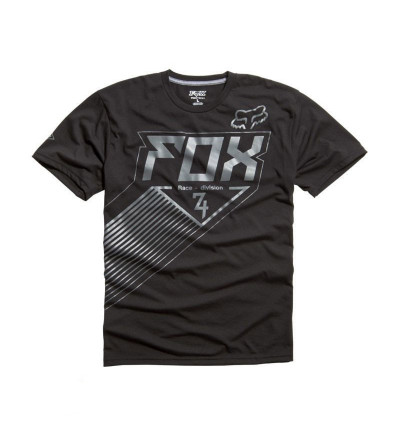 T-shirt Fox Intake Tech Noir