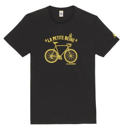 Le Coq Sportif Tshirt Tour de France N°9 Noir