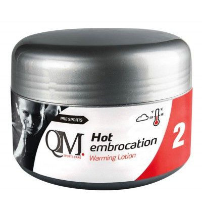 QM 2 Hot Embrocation Lotion chauffante