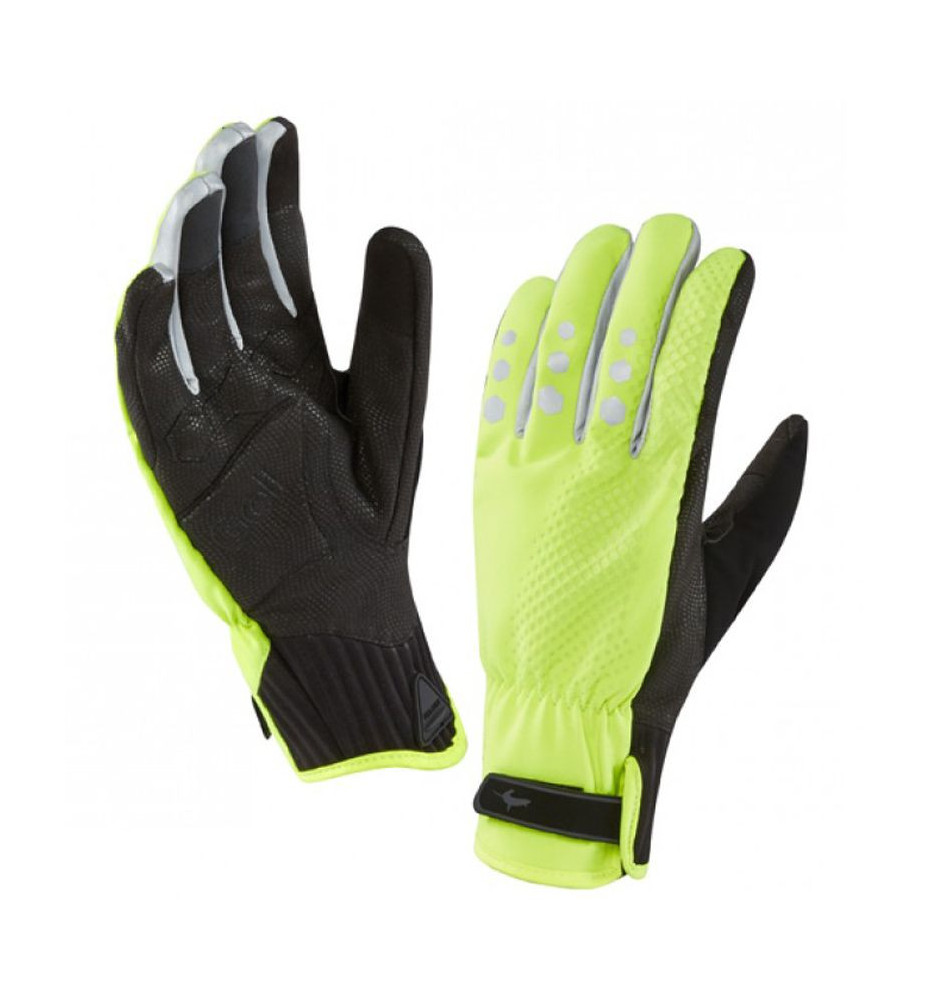 Gants Sealskinz All Weather Cycle XP Jaune