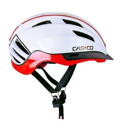 Casque CASCO Speedster TC Blanc et Rouge