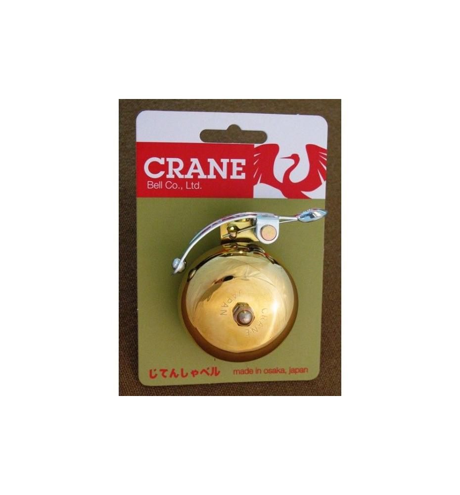 Sonnette Crane Bell Suzu Dorée