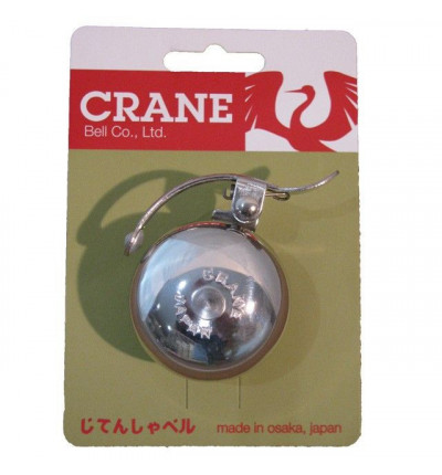 Sonnette Crane Bell Sakura Argentée
