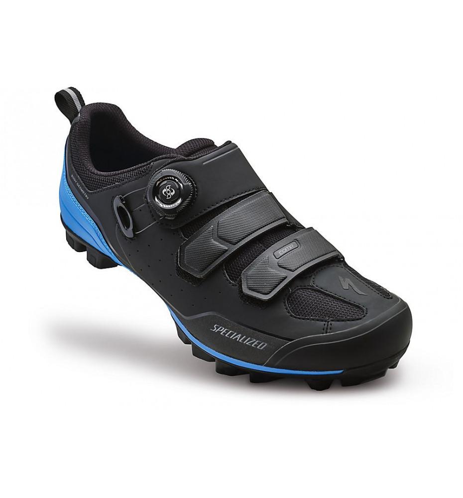 Specialized Chaussures Comp MTB Noir/Bleu