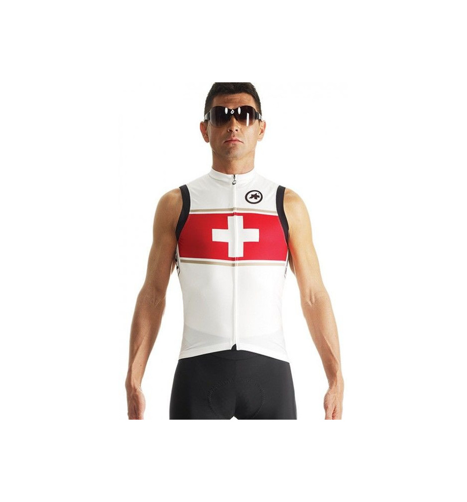 Maillot Assos NS.neopro evo7 Suisse