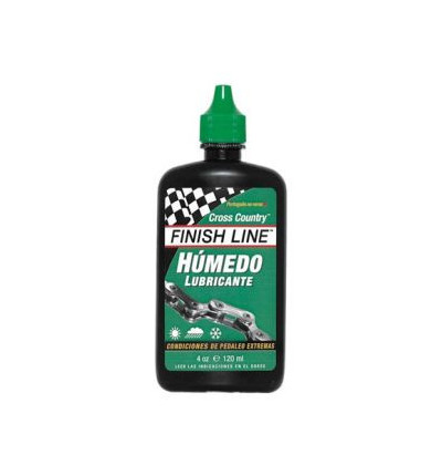 Lubrifiant Finish Line Cross Country Conditions Humides - 120ml