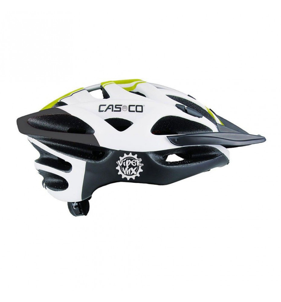 Casque Casco Viper MX Vert + Mentonnière