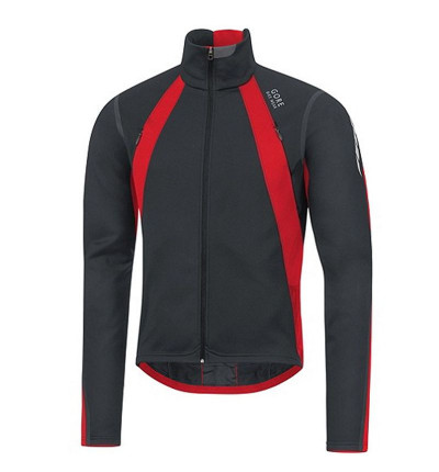 Veste Gore Bike Wear Oxygen windstopper rouge