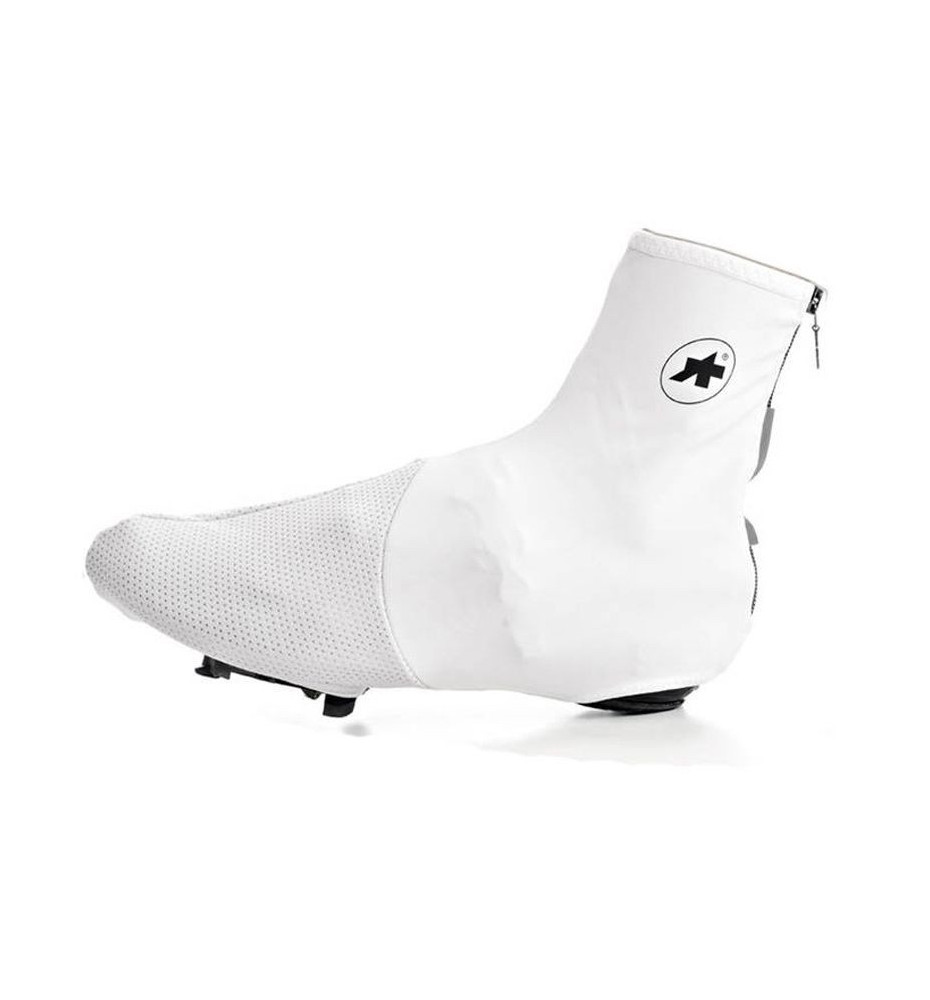 Sur-Chaussure Assos Thermobootie Uno-S7 Blanc