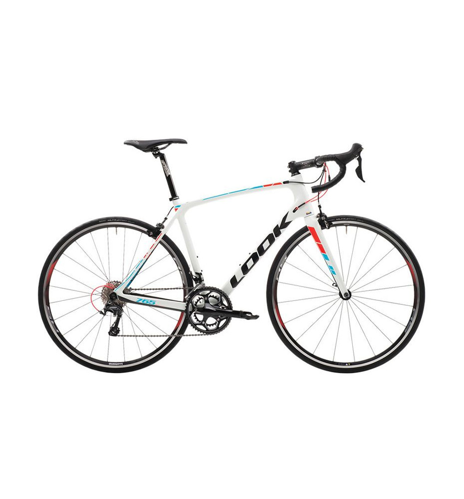 Vélo Look 765 RS 10 Ultegra White Fluo Red Blue