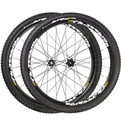 Paire Mavic Crossride Tubeless Quest WTS