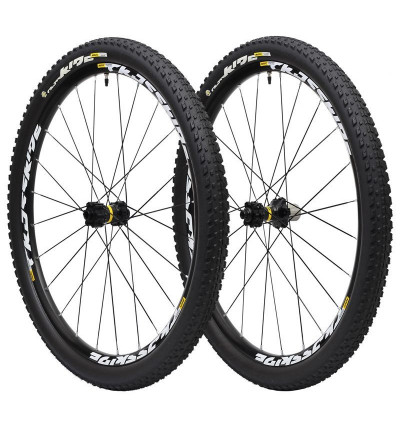 Paire Mavic Crossride Tubeless Pulse WTS