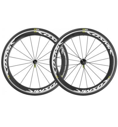 Paire de roues Mavic Cosmic Pro Carbone