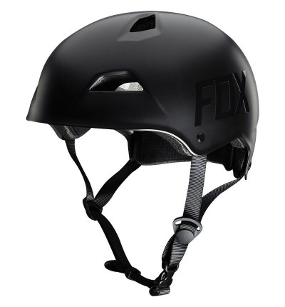 Casque Fox Flight Hardshell Matt Black