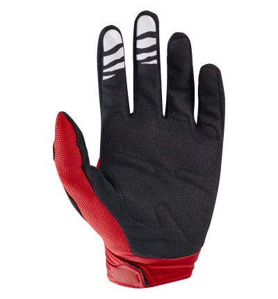 Gants Fox Dirtpaw Race Rouge