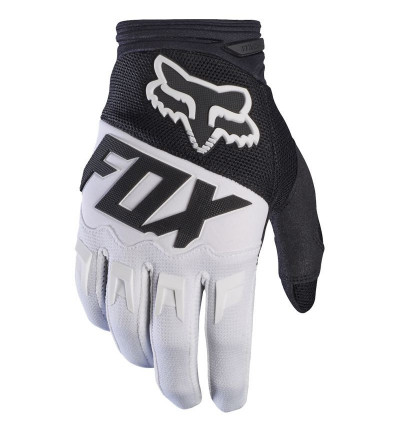 Fox Gants Dirtpaw Race Blanc