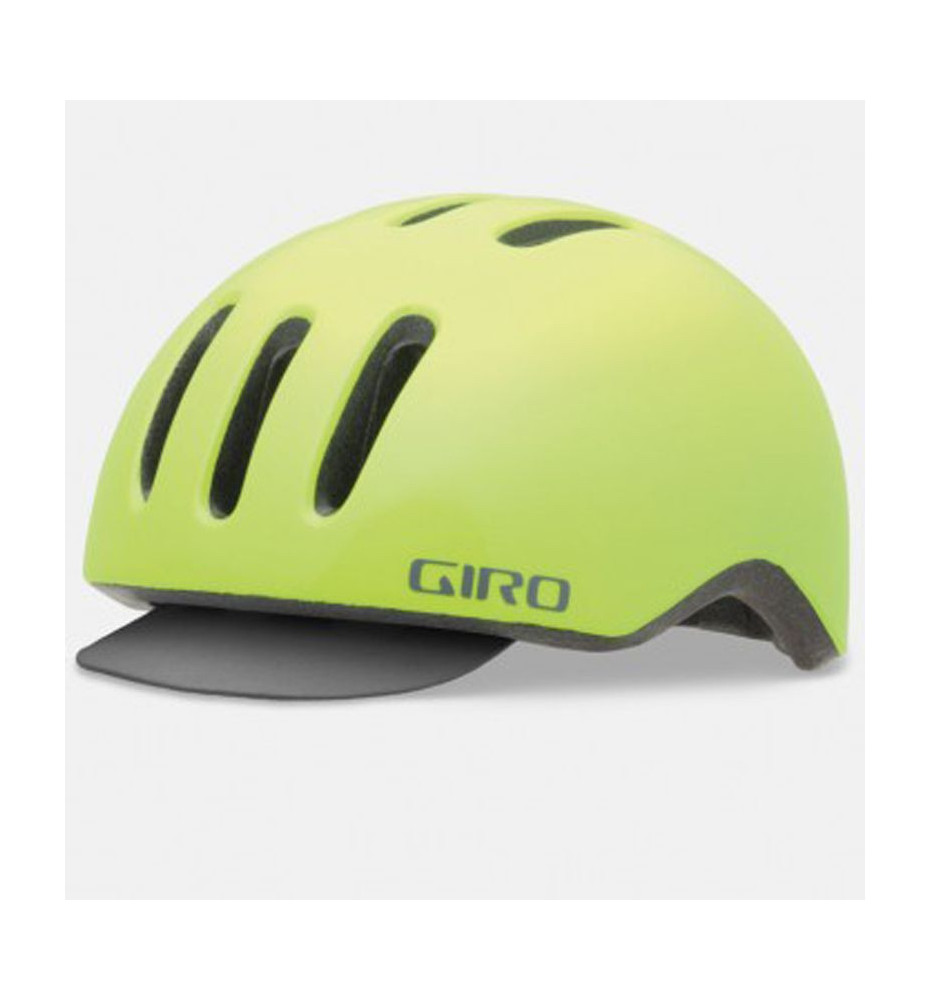 Casque Giro Reverb Highlight Yellow
