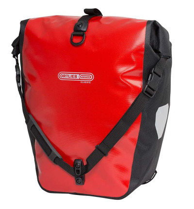 Sacoche Ortlieb Back Roller Classic Paire Rouge