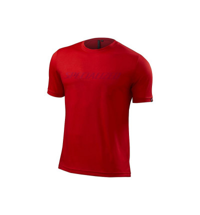 Maillot Specialized enduro drirelease tee rouge