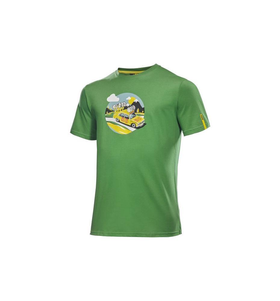 Teeshirt Mavic SSC yellow car tee