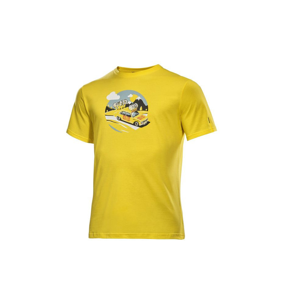 Teeshirt Mavic SSC yellow car tee