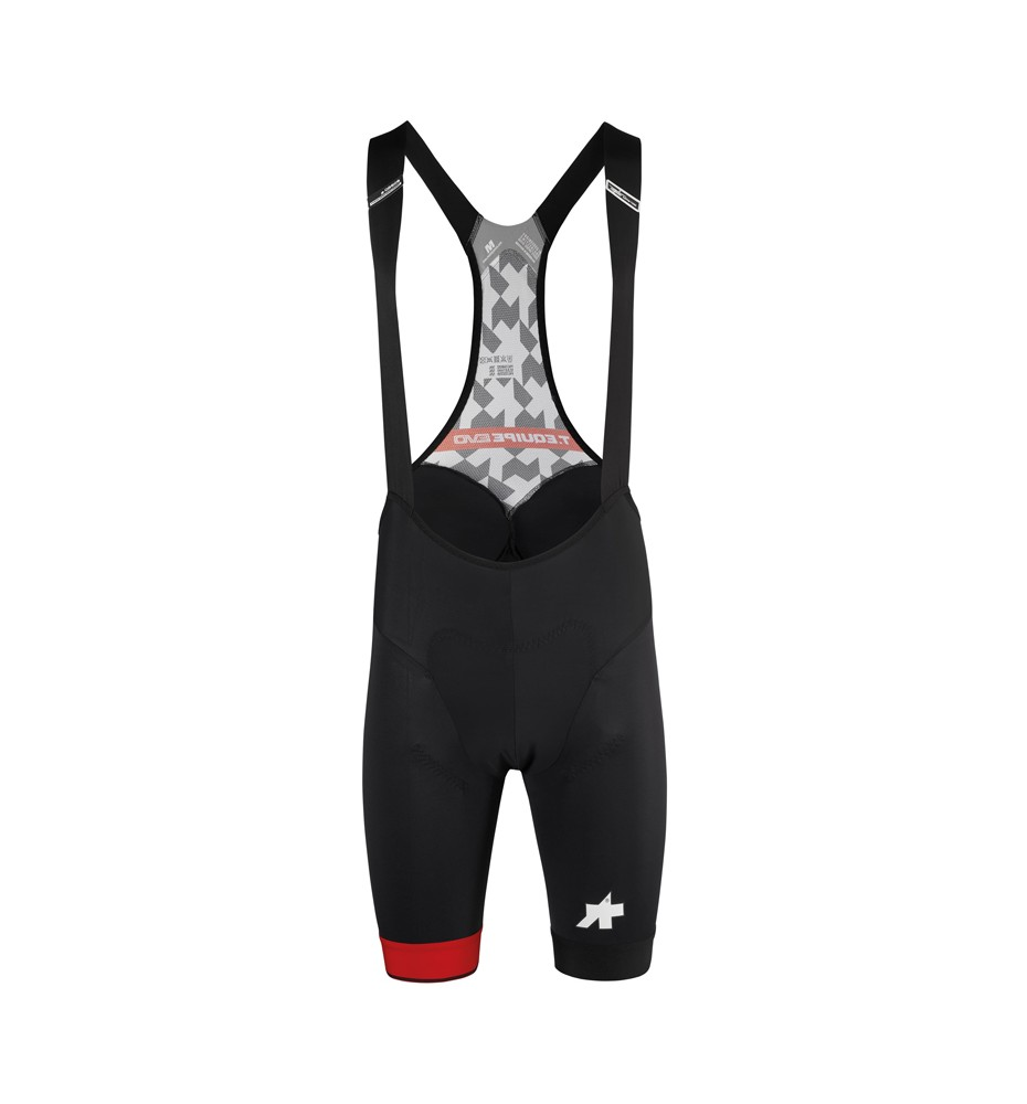 Cuissard Assos T Equipe Evo National Red face