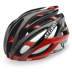 Giro Atmos 2 rouge noir casque vélo