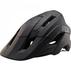 Casque Fox Metah Solids Noir Mat