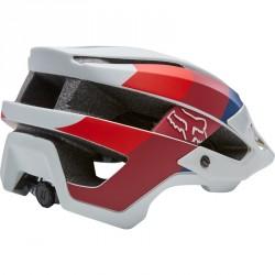 Casque VTT Fox Flux Drafter Helmet Gris Clair