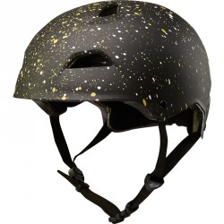 Casque Fox Flight Splatter Noir/Gold