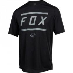 T-shirt Fox Ranger SS Bars Noir