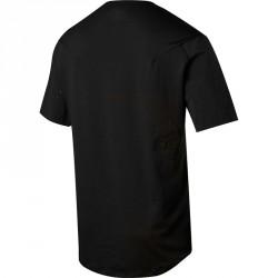 Dos de T-shirt pour VTT Fox Attack Pro Noir et Chrome
