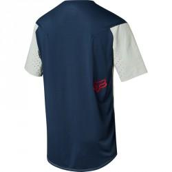 Dos de T-shirt pour VTT Fox Attack Pro Indigo