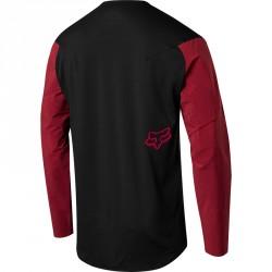 Dos de T-shirt pour VTT Fox Attack Pro Rouge et Noir