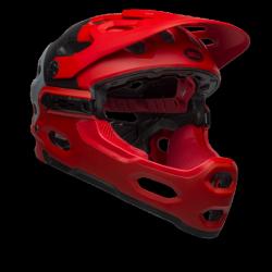 Bell Super 3R Mips rouge casque VTT
