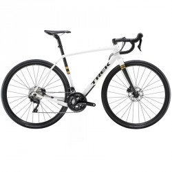 Trek Checkpoint Sl5 blanc gravel bike