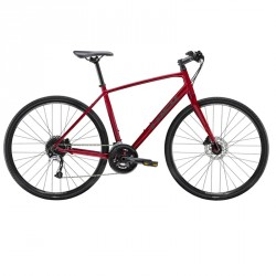 Trek FX 3 disc rouge