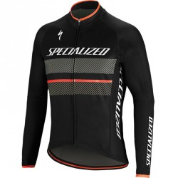 Specialized Therminal RBX comp noir maillot manche longue