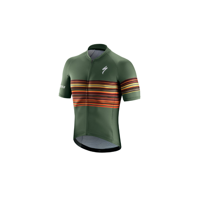 Specialized SL Jersey military green maillot de vélo