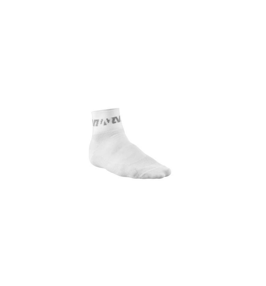 Mavic Race Sock Chaussettes Vélo Blanche
