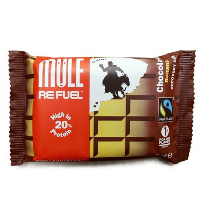 Barre Energetique MuleBar Refuel Chocolate Banana 65g