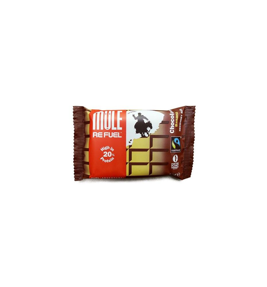 Barre Energetique MuleBar Refuel Chocolate Banana 65g