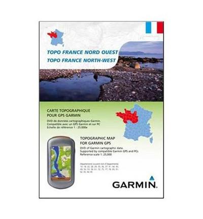 Garmin Topo Nord Ouest Cartographie GPS