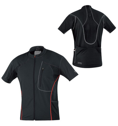 Gore Bike Wear Alp-X 2.0 Maillot Noir