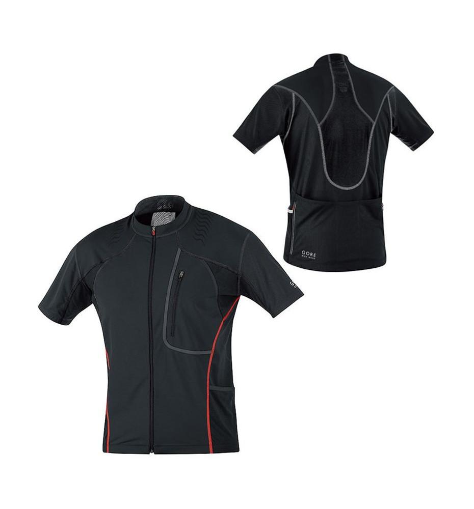 Gore Bike Wear Alp-X 2.0 Maillot Noir
