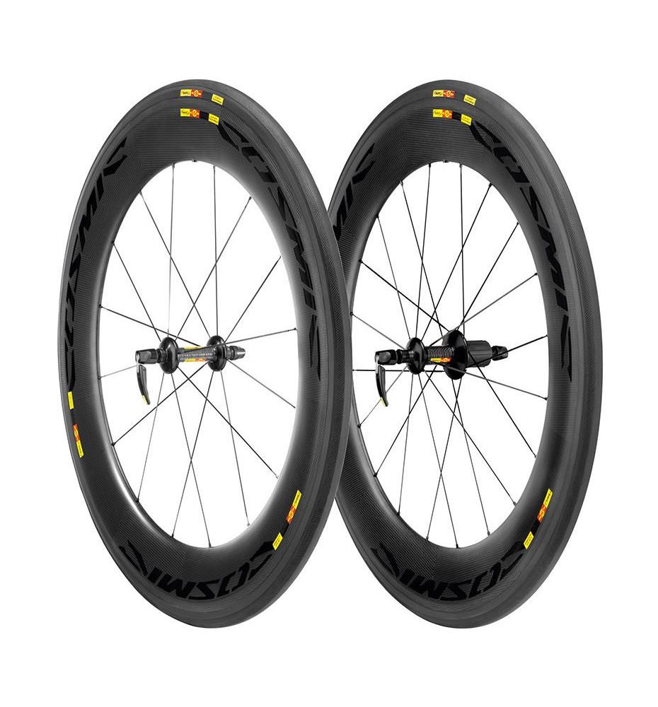 Paire de roues Mavic Cosmic Carbone CXR 80 2013
